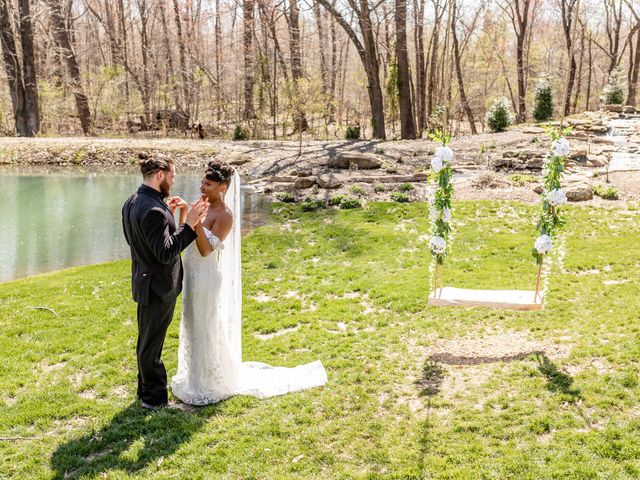 The wedding of Alliyah and Afton