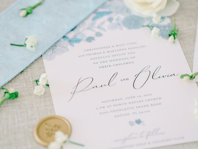 Paul and Olivia's Wedding in Naples, Florida 3
