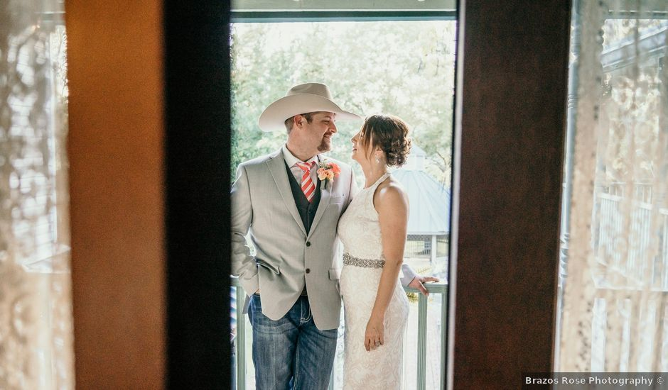 Cory and Mandy's Wedding in Madisonville, Texas