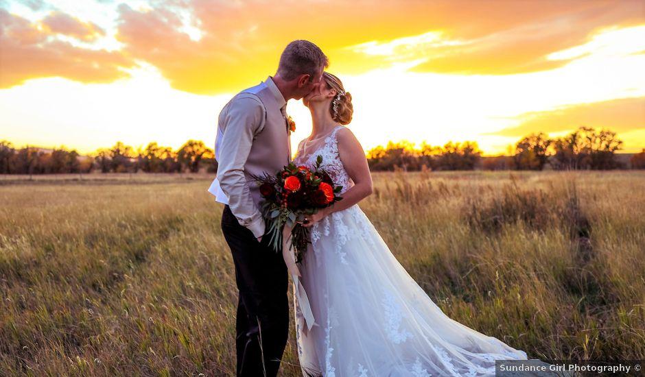 Hollie and William's Wedding in Spearfish, South Dakota