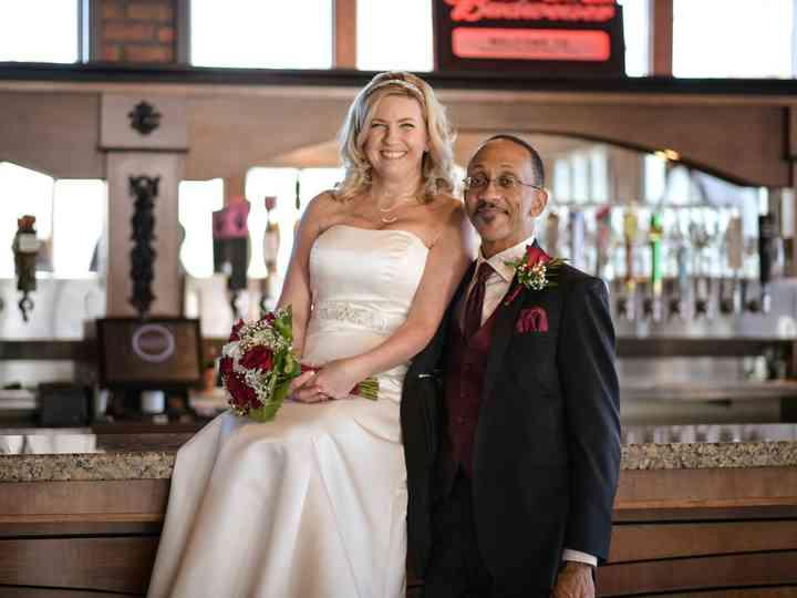 The wedding of Bridget and Doyle