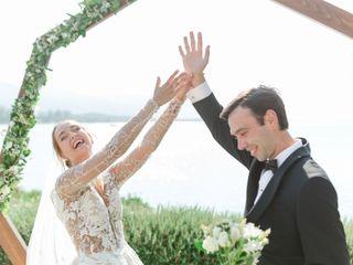 The wedding of Erik and Evgenia
