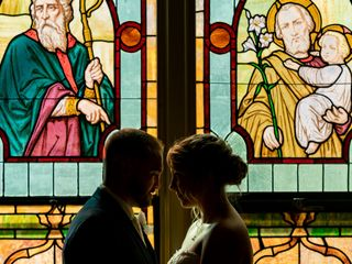 The wedding of Karryn and Andrew