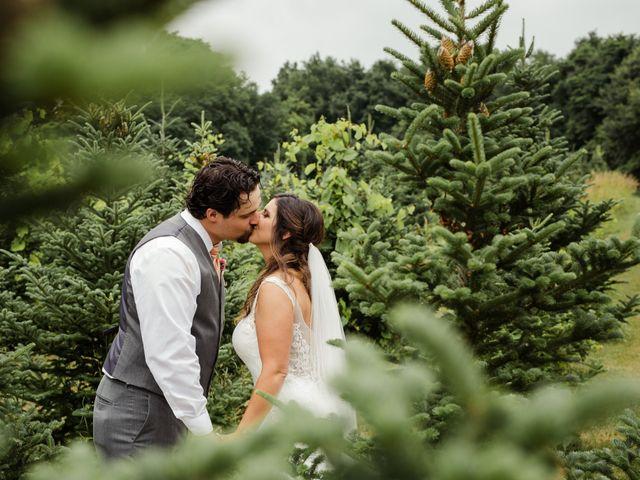 Kellan and Jenni's Wedding in Highland, Michigan 1