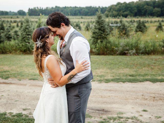 The wedding of Jenni and Kellan