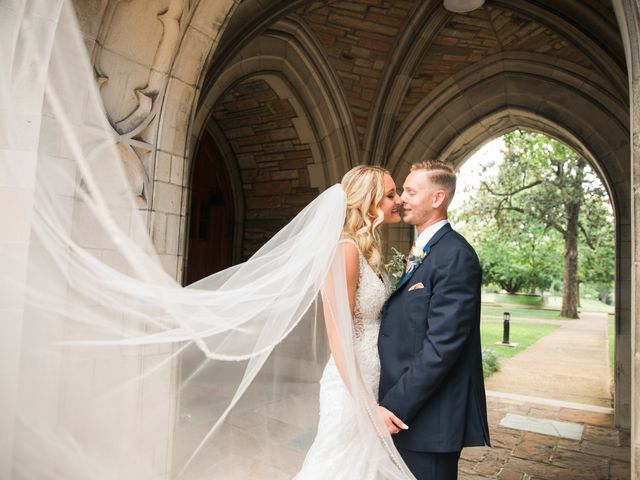 The wedding of Sabrina Madson and Jacob Courtright