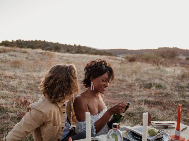 Mathew and Jewell's Wedding in Sedona, Arizona 20