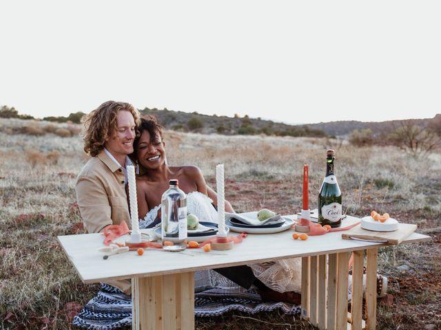 Mathew and Jewell's Wedding in Sedona, Arizona 34