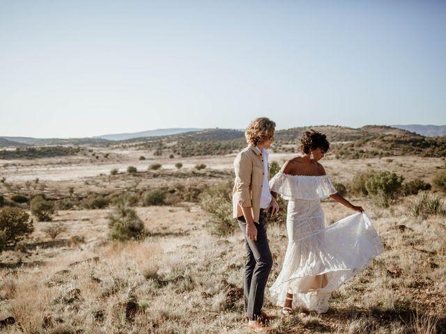 The wedding of Jewell and Mathew