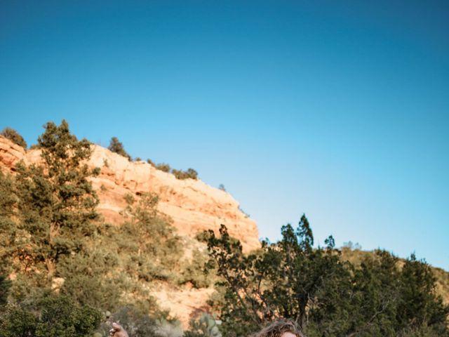 Mathew and Jewell's Wedding in Sedona, Arizona 38