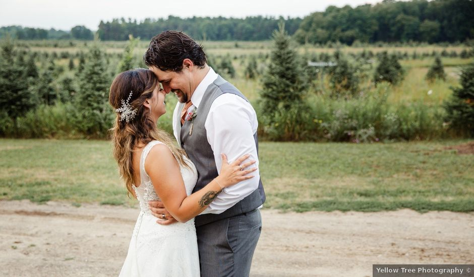 Kellan and Jenni's Wedding in Highland, Michigan