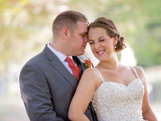 The wedding of John and Sarah
