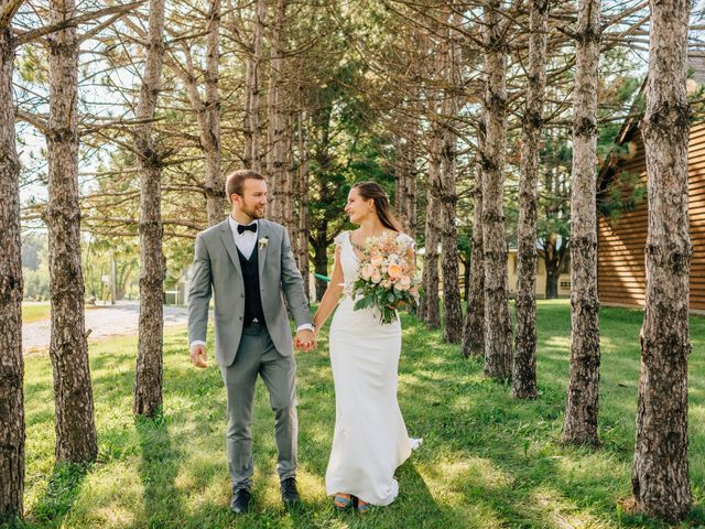 The wedding of Ada and James