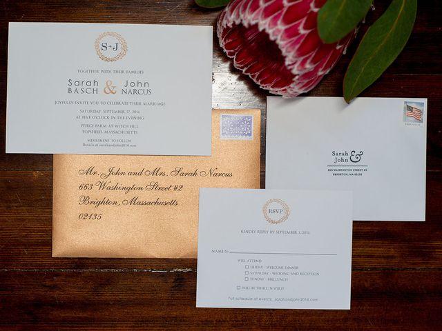 Sarah and John's Wedding in Topsfield, Massachusetts 1