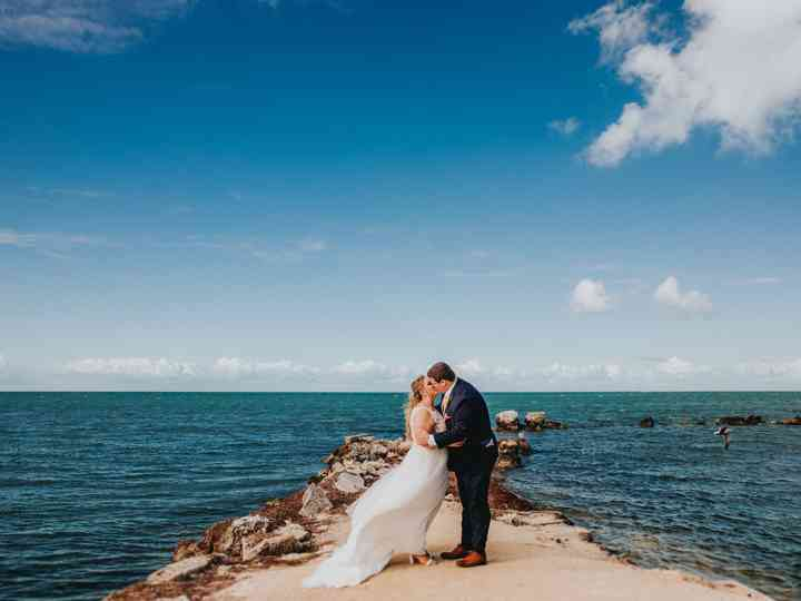 The wedding of Amanda and Larry