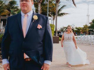 Larry and Amanda's Wedding in Marathon, Florida 11