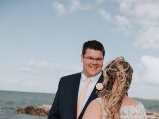 Larry and Amanda's Wedding in Marathon, Florida 12