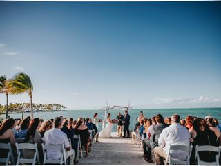 Larry and Amanda's Wedding in Marathon, Florida 14