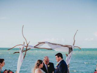 Larry and Amanda's Wedding in Marathon, Florida 16