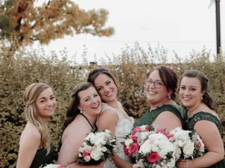 The wedding of Carley and Dom 3