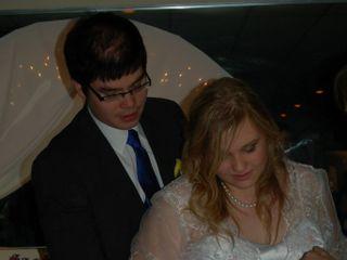 The wedding of Christina and Mike 1