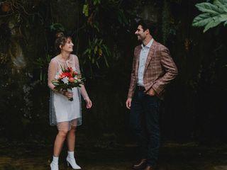 The wedding of Phoebe and Mason