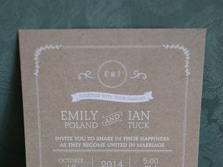 The wedding of Ian and Emily 1