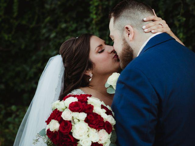 The wedding of Jordan and Jason