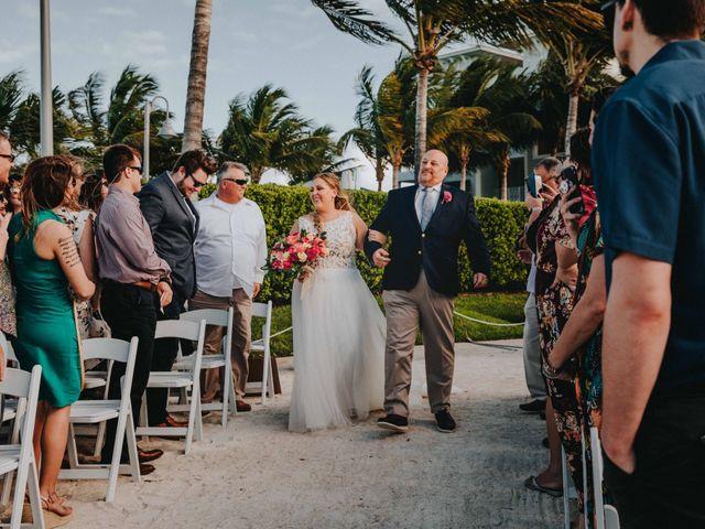 Larry and Amanda's Wedding in Marathon, Florida 13