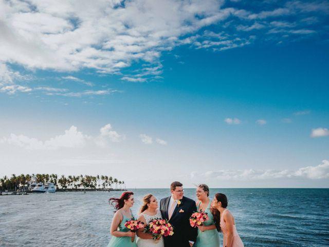 Larry and Amanda's Wedding in Marathon, Florida 17