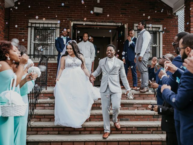 Sparkle and Gene's Wedding in Yonkers, New York 6