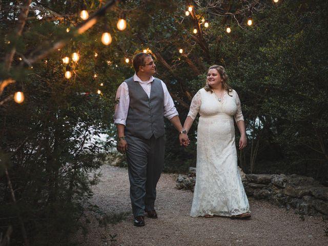 The wedding of Kirstin and David