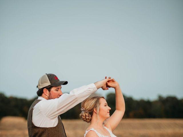Mathew and Karlee's Wedding in Motley, Minnesota 15