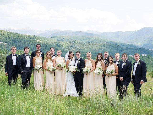 Jennifer and Andrew's Wedding in Edwards, Colorado 13