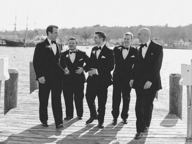 Melissa and Tim's Wedding in Mystic, Connecticut 3