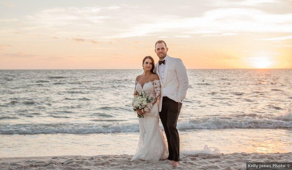 Jordan and Brandon's Wedding in Naples, Florida