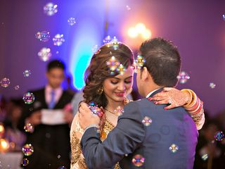 The wedding of Nishant and Recca 2