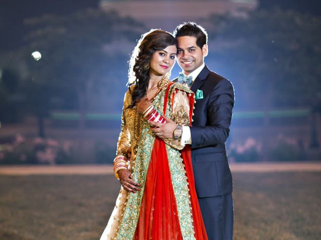 The wedding of Nishant and Recca