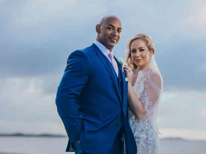 The wedding of Keara and David