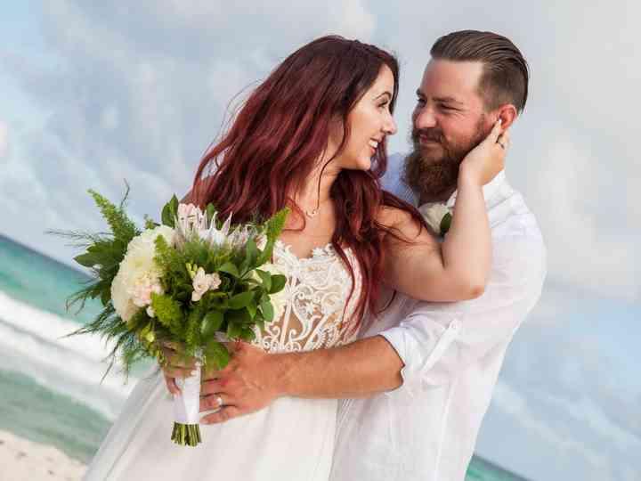 The wedding of Cara and Benjamin