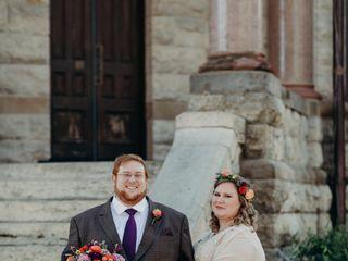 The wedding of Haley and David 1