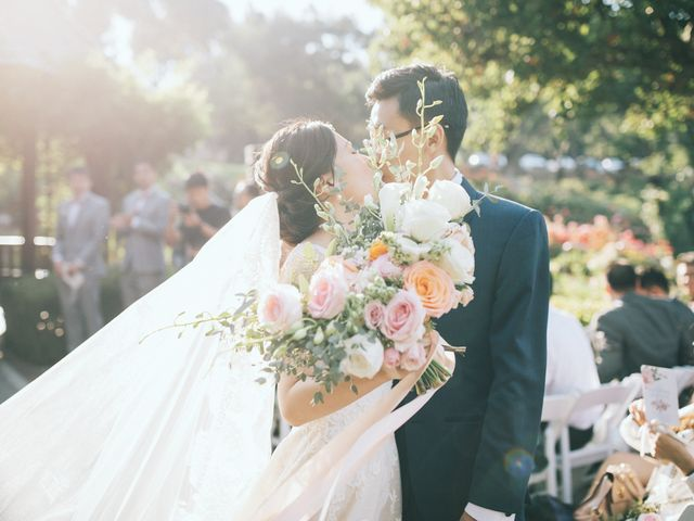 The wedding of Shuchen and David