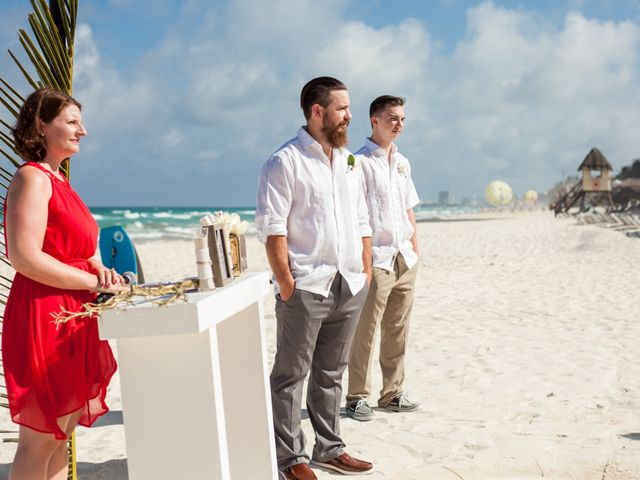 Benjamin and Cara's Wedding in Cancun, Mexico 23