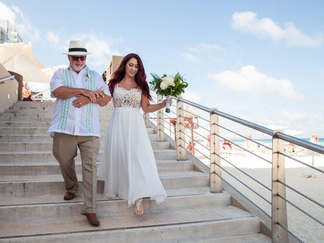 Benjamin and Cara's Wedding in Cancun, Mexico 24