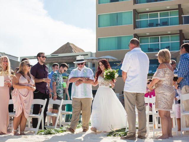 Benjamin and Cara's Wedding in Cancun, Mexico 25