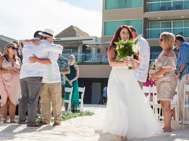 Benjamin and Cara's Wedding in Cancun, Mexico 26