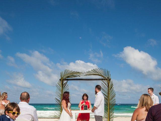 Benjamin and Cara's Wedding in Cancun, Mexico 28