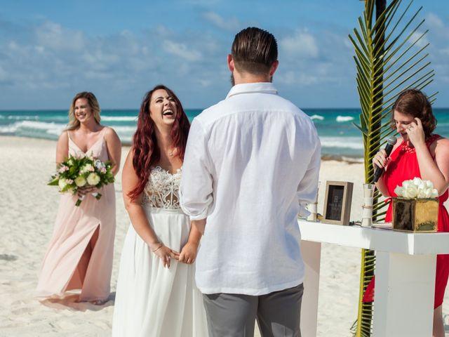 Benjamin and Cara's Wedding in Cancun, Mexico 29