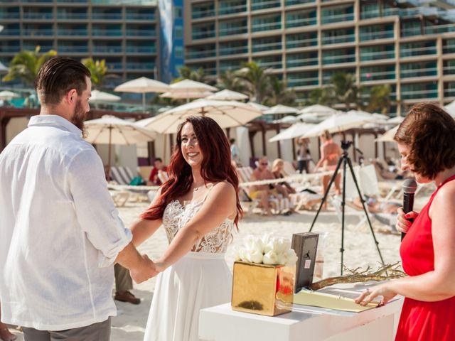 Benjamin and Cara's Wedding in Cancun, Mexico 30