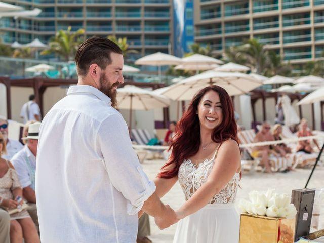 Benjamin and Cara's Wedding in Cancun, Mexico 31